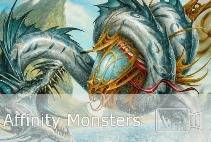 Affinity Monsters Pauper League