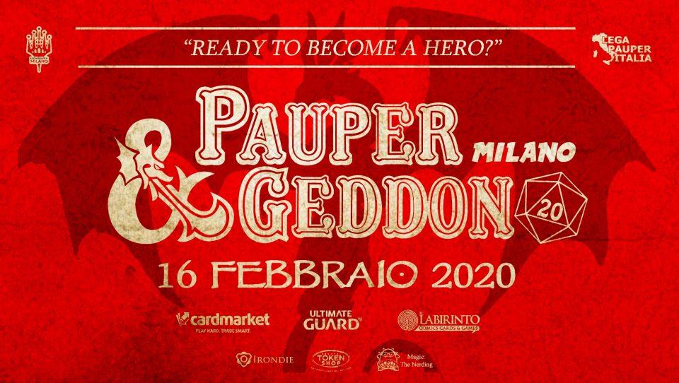 Paupergeddon Milano 2020 – Top8 & metagame