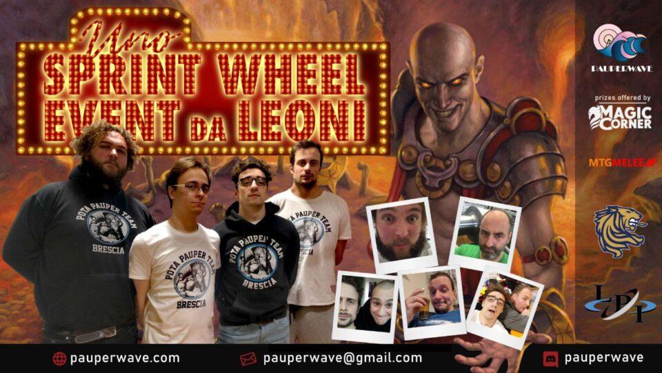 Sprint Wheel Event – Pauper MTG Online Settembre